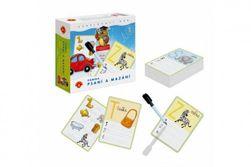 Písmena Psaní a mazání 1 didaktická společenská hra v krabici 19x18x5cm RM_29000739