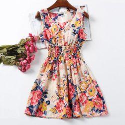 Karışık yaz elbise Laura - 21 model