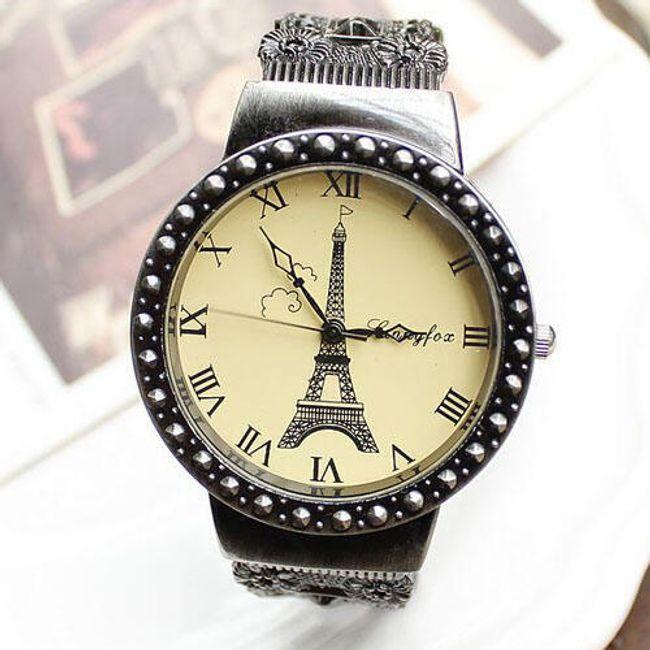 Vintage zegarek z wieżą  Eiffla 1