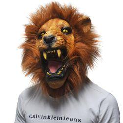 Maska rozzuřeného lva