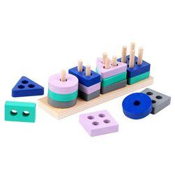 Vzdělávací dřevěná hračka Asiko