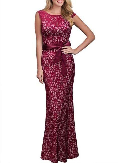 Uzun bayan elbise Abbey 1