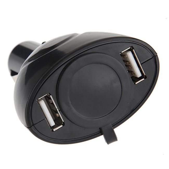 Rozdvojka do autozapalovače USB 1