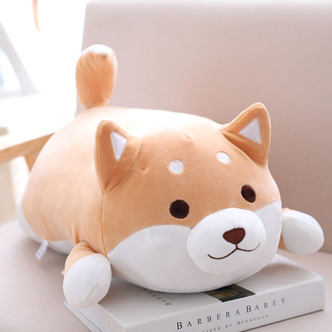 Мягкая игрушка-подушка собачка Сиба-ину 1