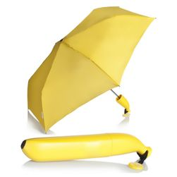 Składany parasol w kształcie banana
