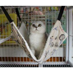 Подвесной гамак для кошки- 2 размера