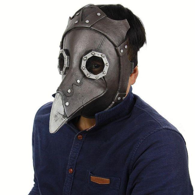 Morový doktor - maska 1