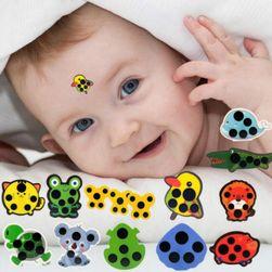 Залепящ се термометър за деца V10