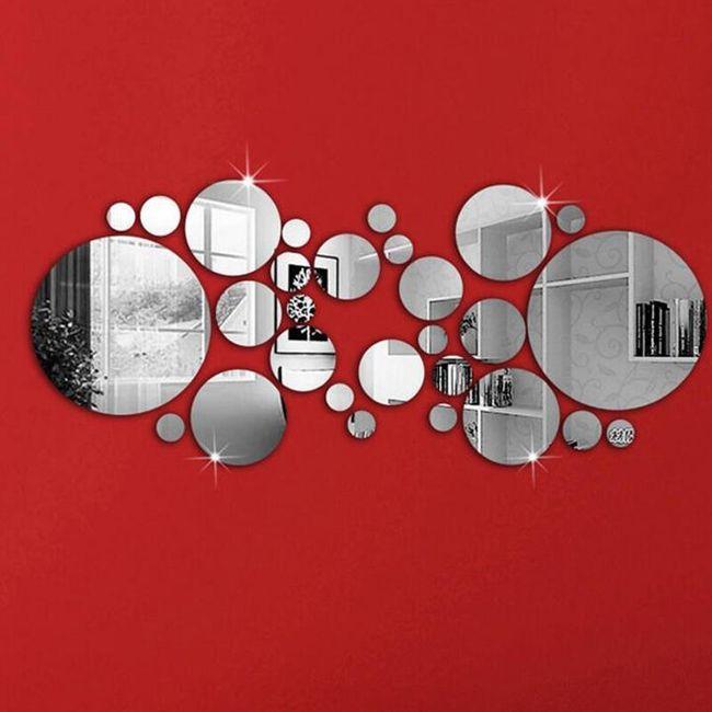 Izvirna zrcalna nalepka - 28 kosov 1