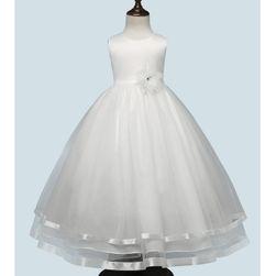 Dívčí šaty s bohatou sukní - 8 barev