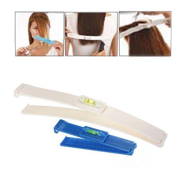 Praktické klipy pro rovné stříhání vlasů - 2 kusy 1