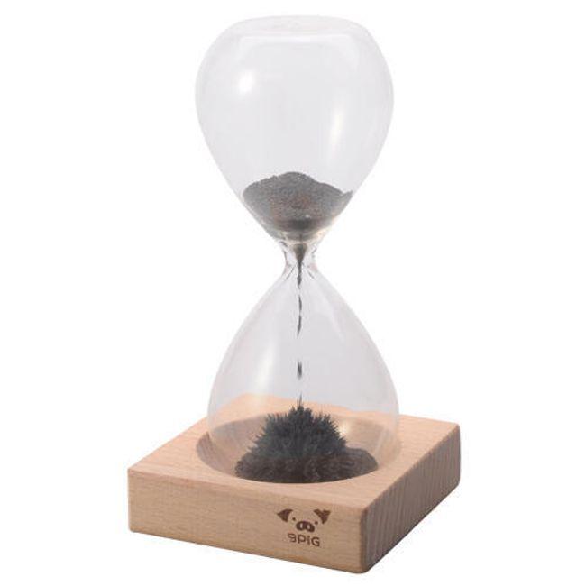 Přesýpací hodiny s magnetickým prachem 1