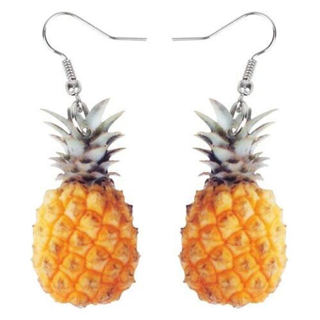Damskie kolczyki Pineapple 1