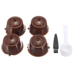 Многоразовые фильтры-капсулы для кофемашины Dolce Gusto - 4 штуки
