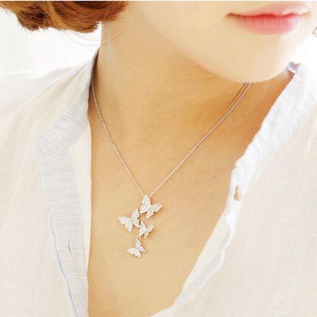 Dámský náhrdelník Hollow 1