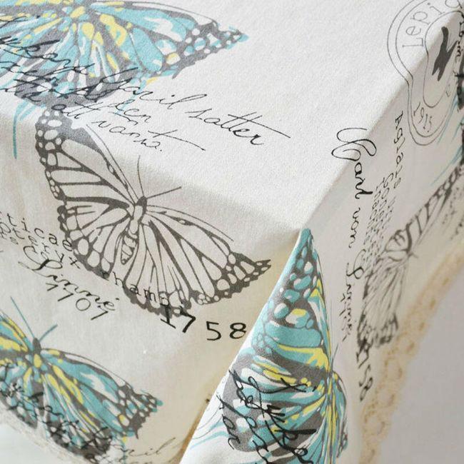 Ubrus - s motýlky 1