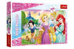 Puzzle Disney princezny - Sen o princezně 100 dílků 41x27,5cm v krabici 29x19x4cm RM_89116393
