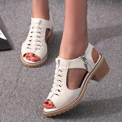 Ženske sandale na potpeticu WE15