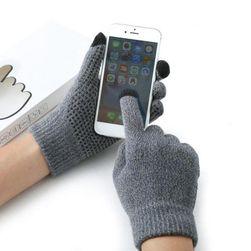 Męskie rękawiczki dotykowe - 4 kolory