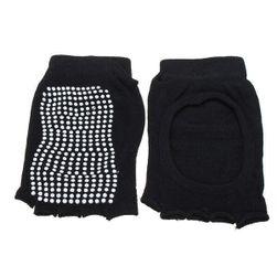 Čarape za jogu u crnoj boji