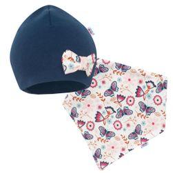 Dojčenská čiapočka s šatkou na krk RW_cepicka-satek-missy-Gaja409