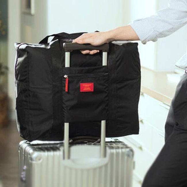 Bavul üzerine katlanabilir seyahat çantası 1