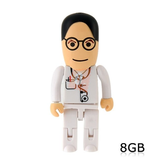 8GB Flashdisk - doktor 1
