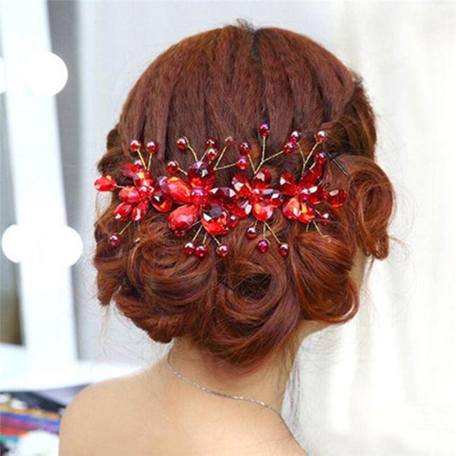 Květinová ozdoba do vlasů KVO4 1