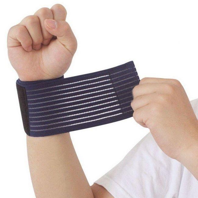 Fitness bandáž na zápěstí - 4 varianty 1