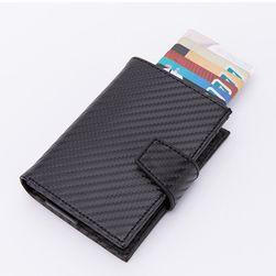 Unisex peněženka Mauie carbon Černá x-45