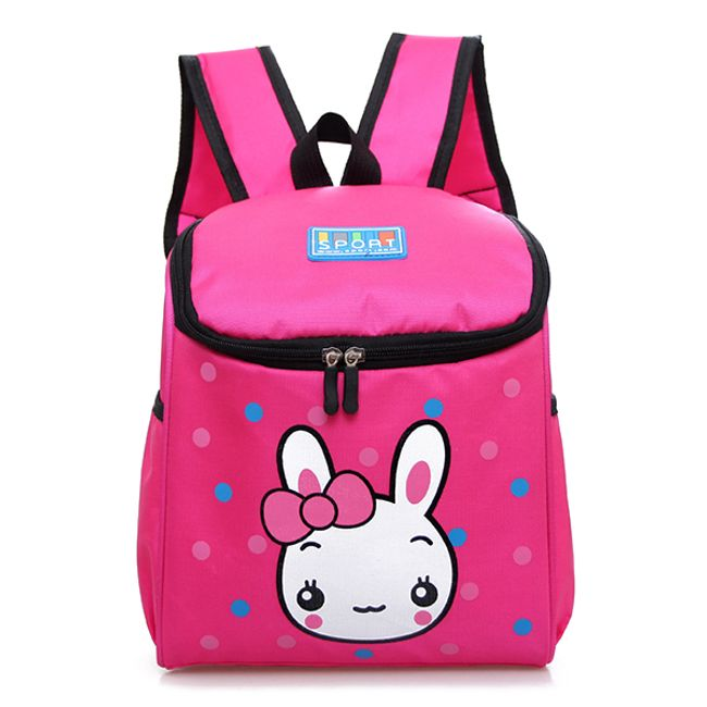 Рюкзак школьный с зайчиком 1