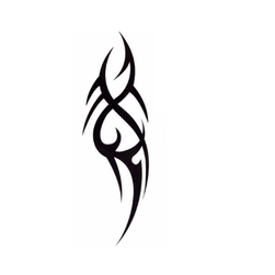 Privremena tetovaža - tribal