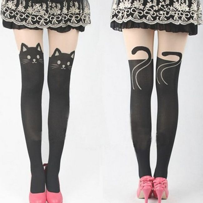 Originalne čarape sa životinjskim motivima 1