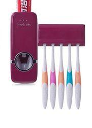 Instrument economizator pasta de dinţi și suport pentru periuțe