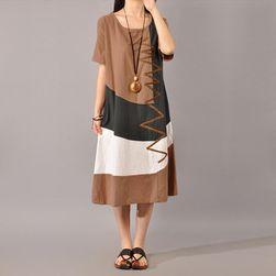 Damska długa sukienka