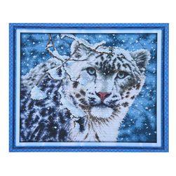 DIY набор для вышивки- Леопард