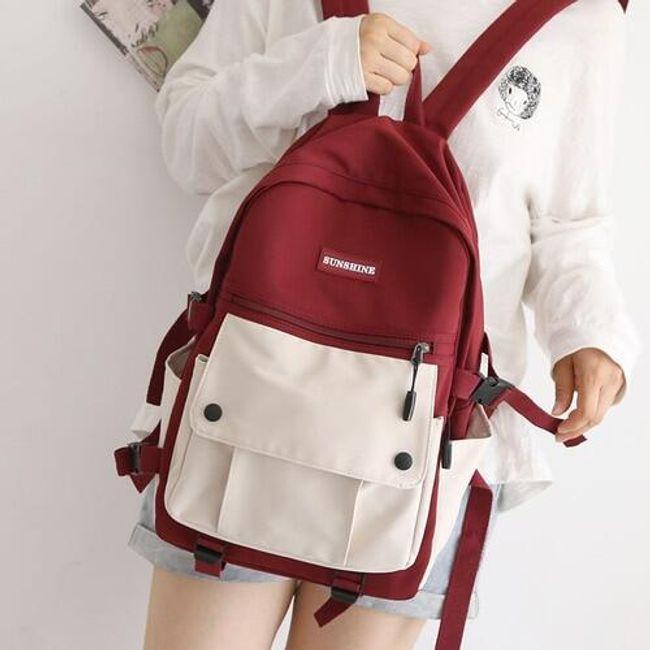 Szkolny plecak Luss 1