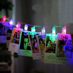Łańcuch LED z kołkami do zdjęć