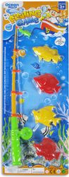 Hra rybičky 2 druhy na kartě Set Dětský rybolov SR_DS10250843
