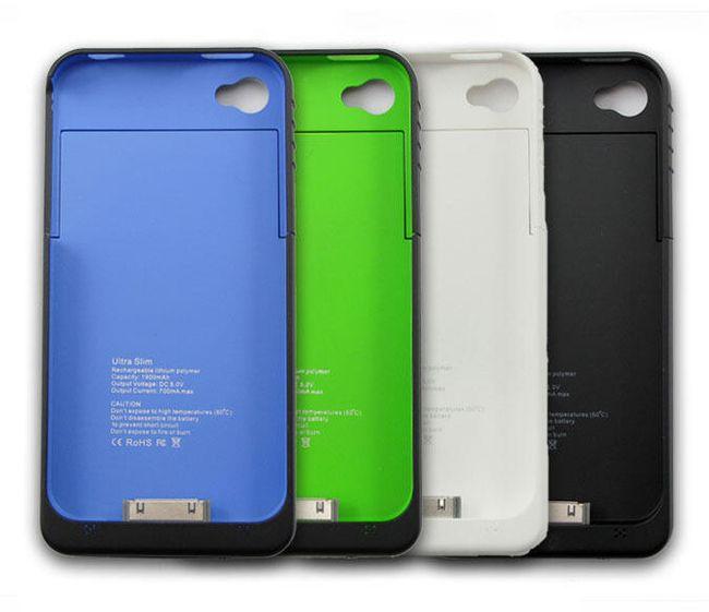 Nabijające etui do iPhone 4 / 4S - 4 kolory 1