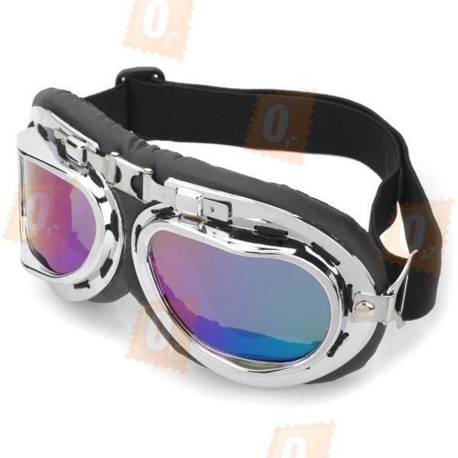 Motorkářské brýle - barevná skla 1