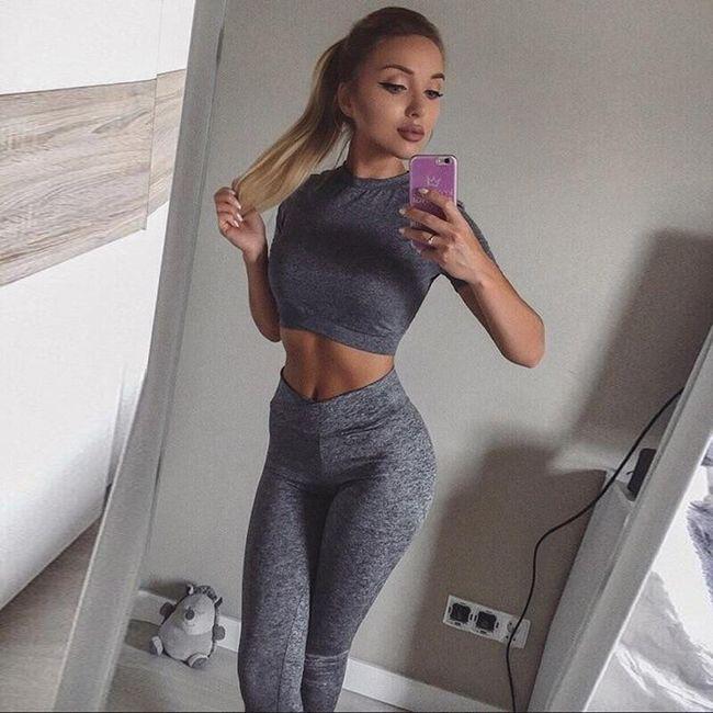 Női edzés készlet Delia