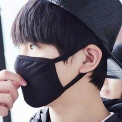 Maska ochronna przeciwko drobnemu pyłowi w kolorze czarnym
