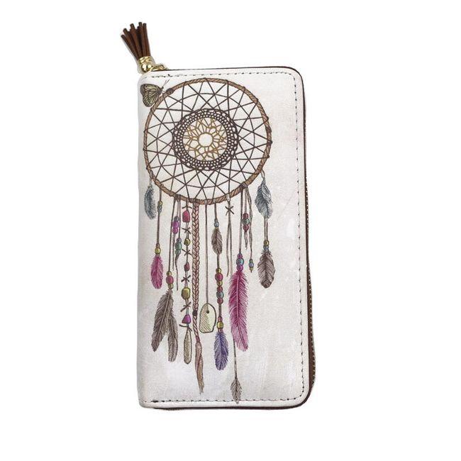 Dámská peněženka s indiánským vzorem - 6 variant 1