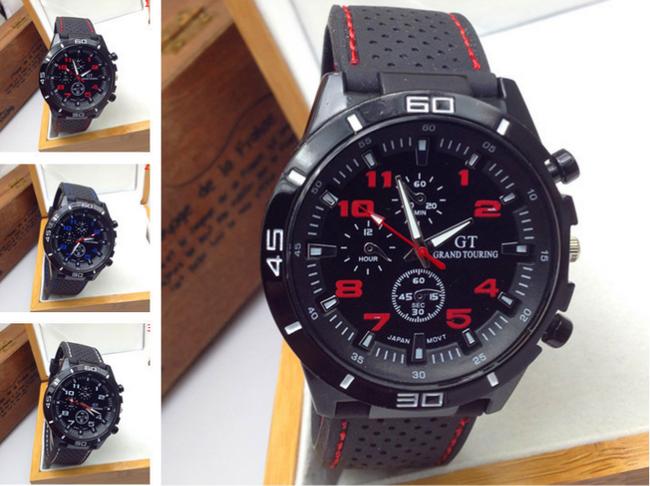 Męski zegarek sportowy - 3 kolory 1