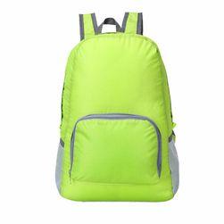Водонепроницаемый складной рюкзак- зеленый цвет