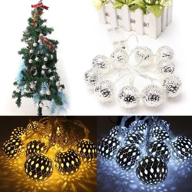 Set LED lampica za Božićnu jelku  1