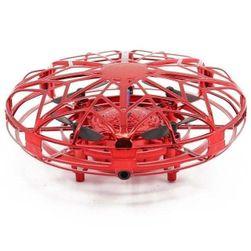 Mini dron ovládaný gesty Hank Červená