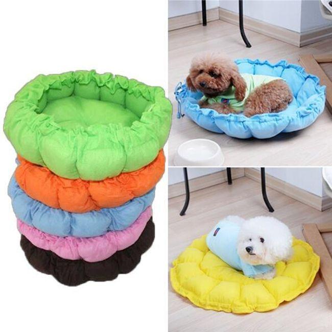 Стягивающийся лежак для небольшой собаки или кошки 1