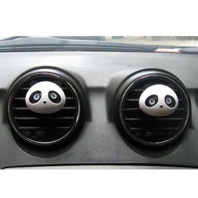 Osvežilec zraka za avto v obliki pande 1